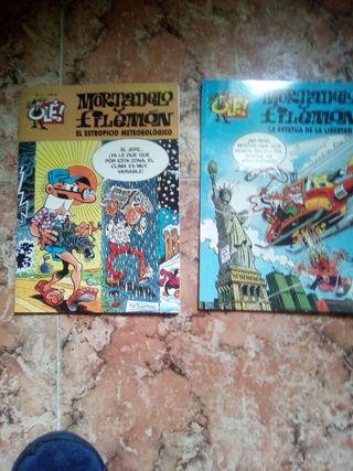 lote de 2 comics de Mortadelo y Filemón