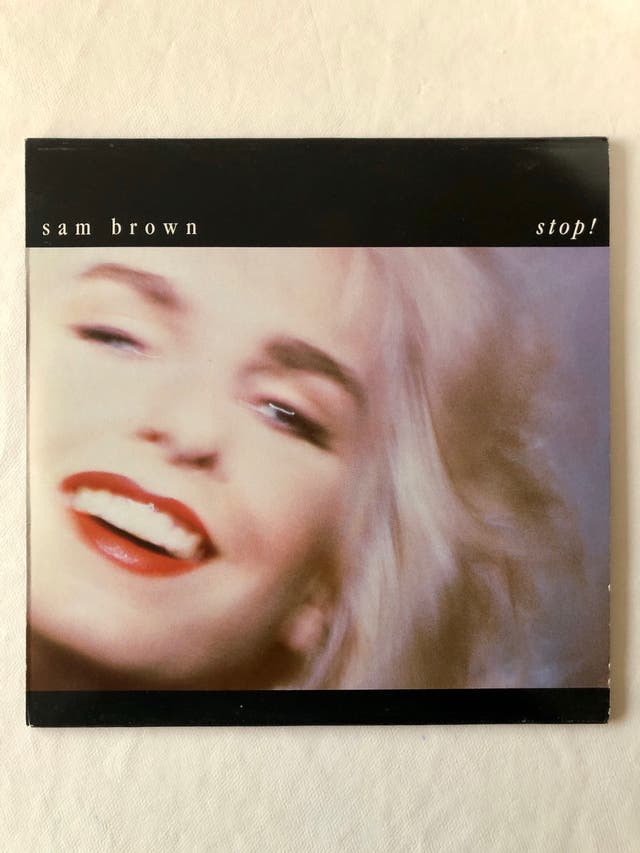 Disco de vinilo Stop de Sam Brown