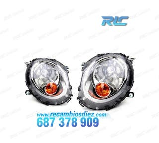 FAROS MINI R56 INTERMITENTE NARANJA