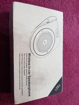 Bluetooth telefono para coche
