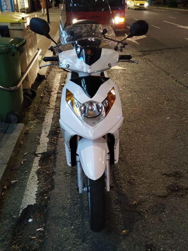 Moto Samada Roma 125cc 2010
