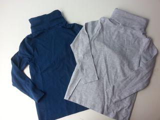 (d044) (3x2) Lote camisetas a estrenar 3-4 años