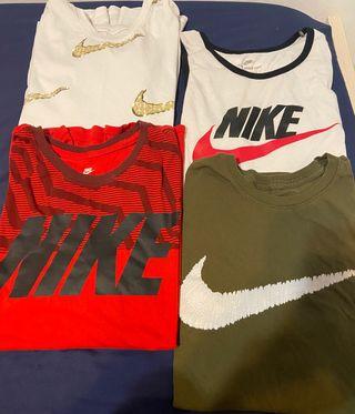 4 camisetas Nike hombre nuevas