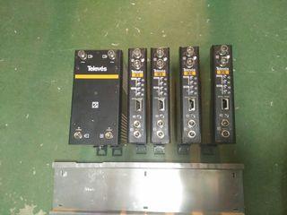 amplificadores, fuentes de alimentación, etc
