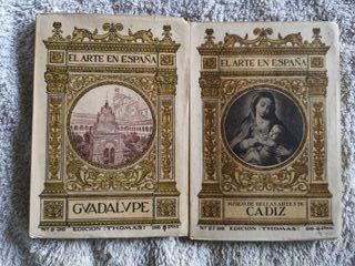 2 Libros de la Colección Arte en España 1930