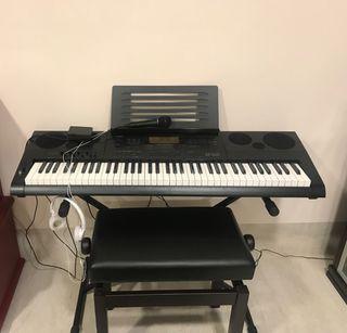 Piano electrónico Casio WK-7600