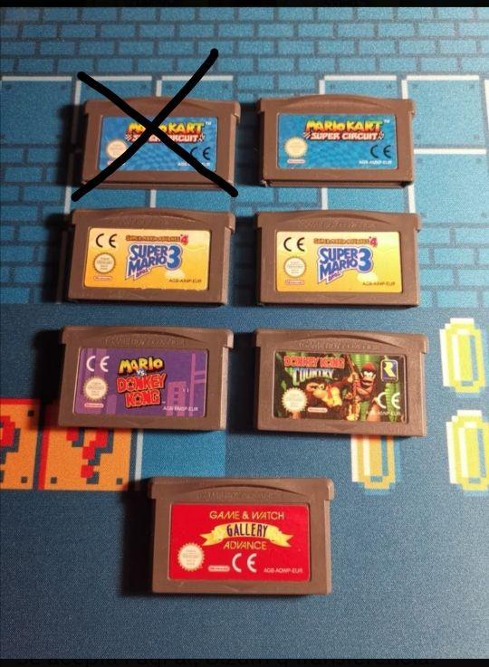 Mario vs Donkey Kong GBA