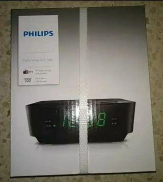 Philips AJ3116/12.Radio reloj despertador.doble al