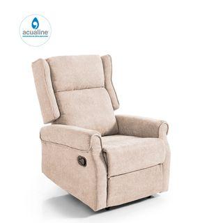 Butaca relax ROMA, sillón reclinable con reposapié