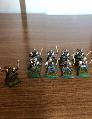 Warhammer sombrios alto elfos