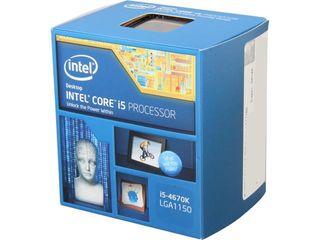 CPU intel i5 4670k