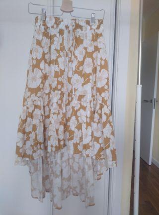 falda caribeña. s/m