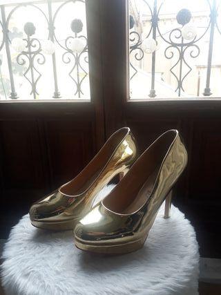 zapatos tacón numero 42