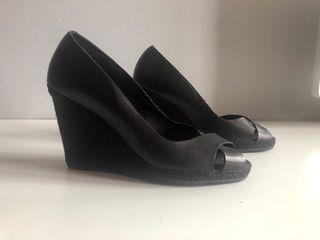Zapato cuña Billi Bi piel nº37