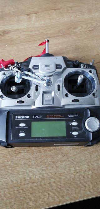 Radio RC Futaba 7canales usada 1 solo día