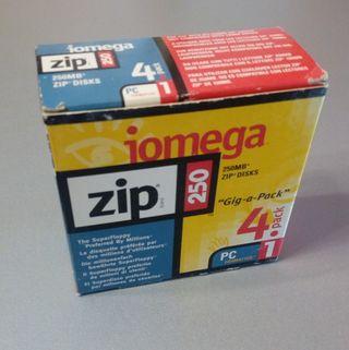 zip iomega 250 mb nuevos