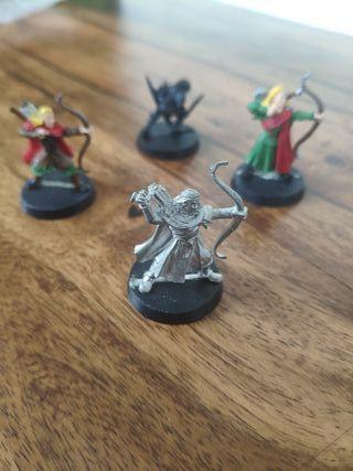 Elfos y goblin Warhammer ESDLA