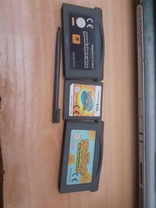 Nintendo ds y juegos