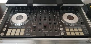 Pioneer dj SSX 4 CANALES+FLY CASE MAGMA+MONITORES