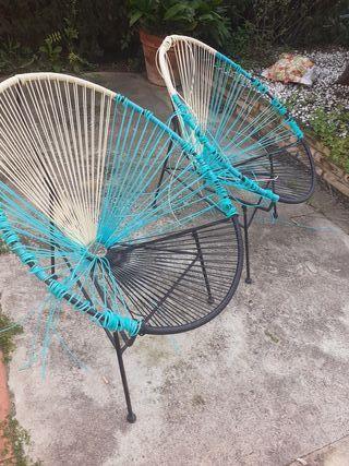 2 sillas acapulco