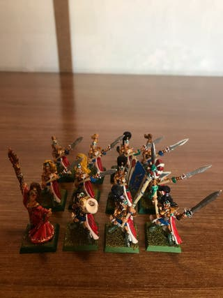Warhammer Doncellas Altos Elfos