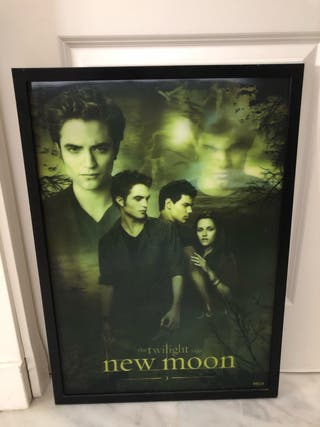 Poster 3D Luna nueva.