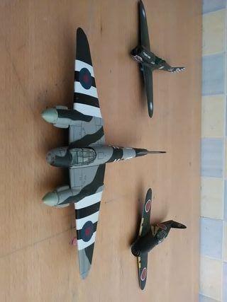 Aviones de la segunda guerra mundial coleccionismo