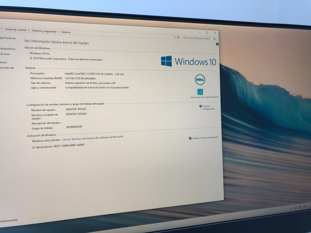 Dell Inspiron 7777 Intel i7