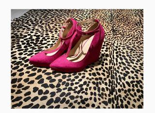 Cuñas rosas Zara