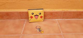 Llavero y Billetera Pokémon