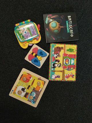 juguetes: 2 cuentos, 3 puzzles