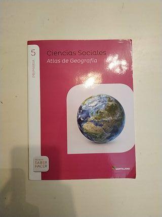 Atlas de Geografía Ciencias Sociales 5° Primaria