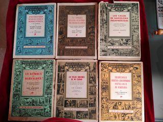 libros antiguos sobre Barcelona
