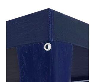 Carpa para celebraciones PE azul 3x6 m