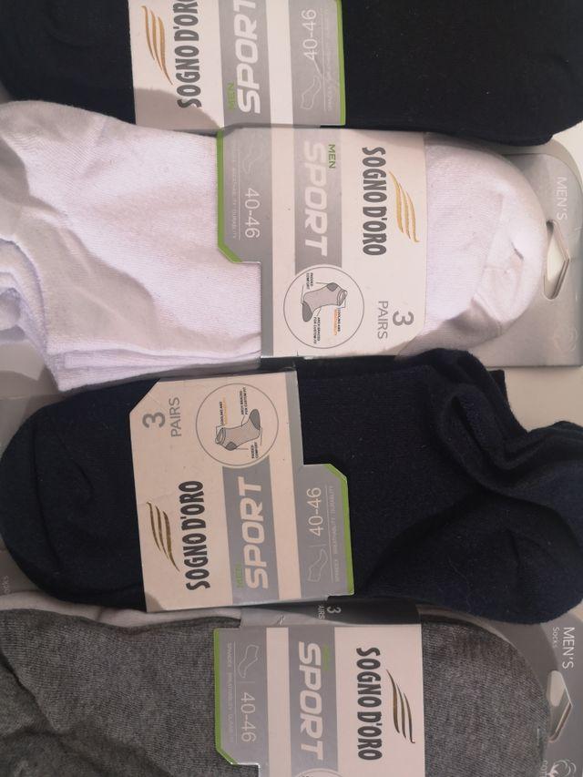 calcetín tobillero básico 3 pares 3'90