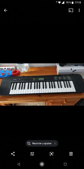 casio piano teclado electrico musical organo