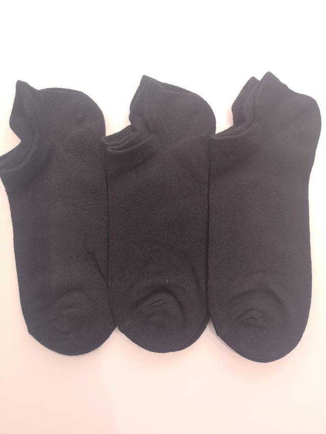 calcetín mujer tobillero básico 3 pares 3'90