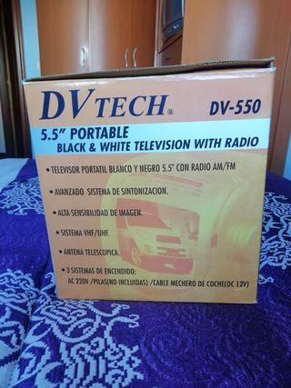 televisión portátil+ radio