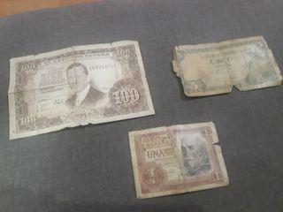billetes antiguo