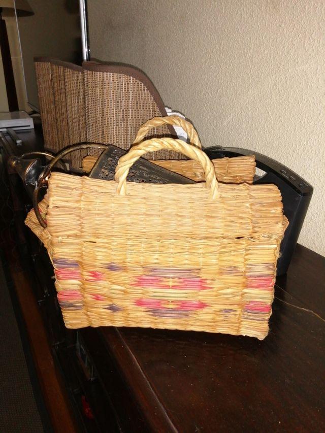 cesta mimbre portuguesa
