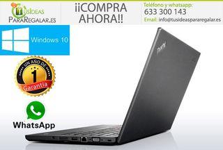 Portátil Lenovo T440, i5/Cam/SSD/Ultra Fino/Win10