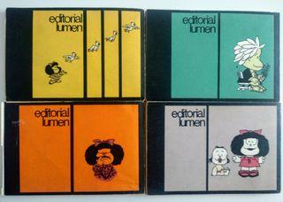 Lote 4 tomos Mafalda editorial Lumen 1970