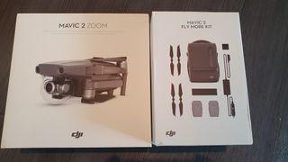 DJI Mavic 2 zomm + Fly more combo