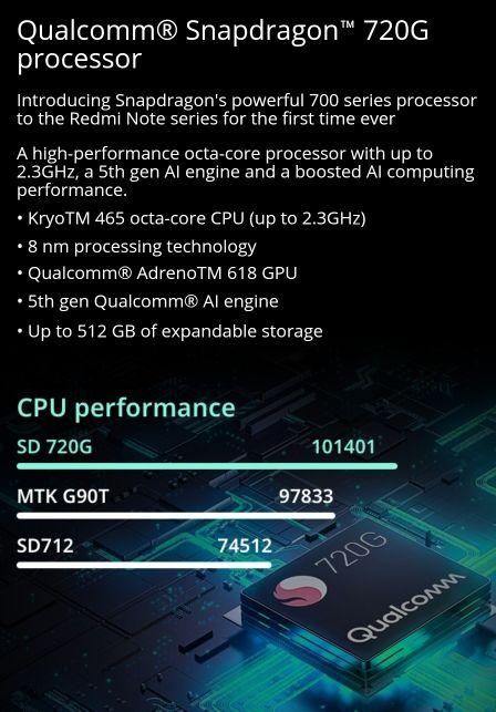 Xiaomi redmi note 9wñs