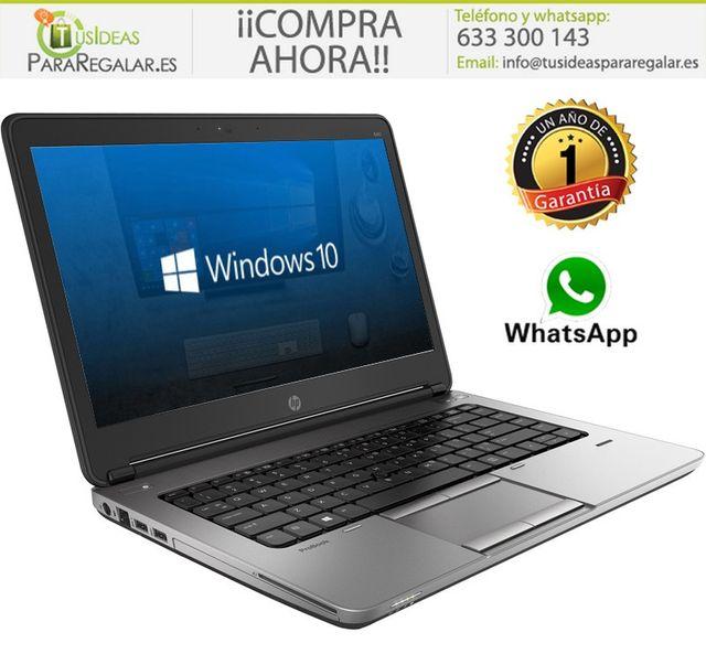 Portátil Hp ProBook 640 G2, i5/8Gb Ram/SSD/Cam/Win