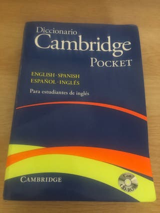 Diccionario Cambridge pocket