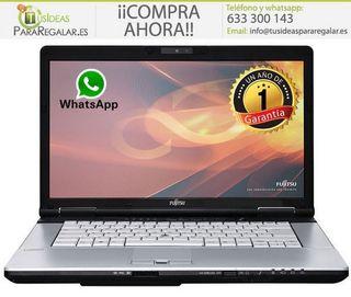 Portátil Fujitsu S751, i5/8Gb Ram/Web Cam/Win10 Gr