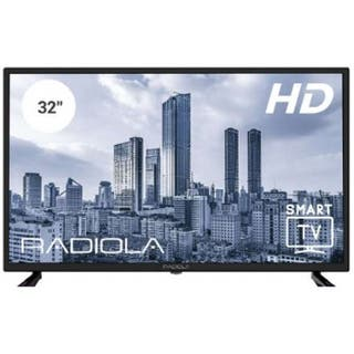 "TV RADIOLA 32"" LED HD READY RAD-LD32100KA WIFI."