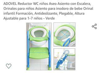 Reductor wc, con escalera.