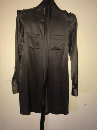 Camisa larga Zara
